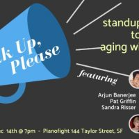 Speak Up, Please: Standup comedy to support aging with dignity