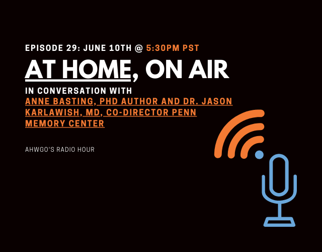 A Conversation With Anne Basting and Dr. Jason Karlawish