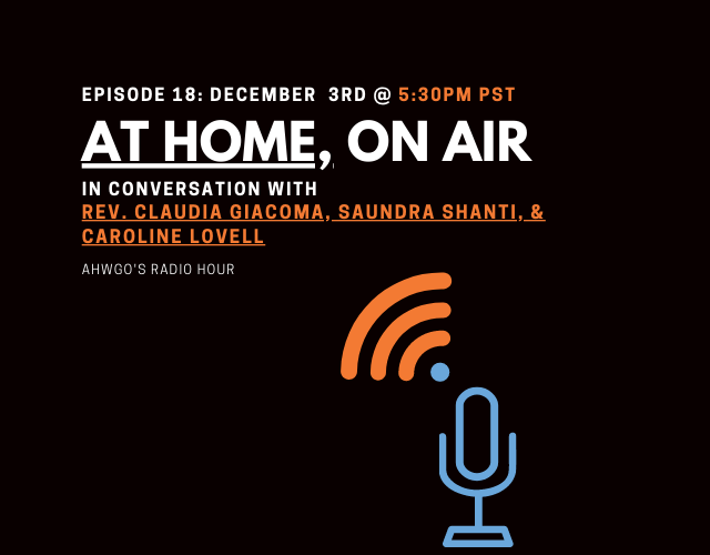 A Conversation with Rev. Claudia Giacoma, Saundra Shanti and Caroline Lovell
